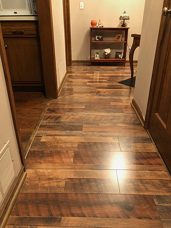 hardwood flooring in home