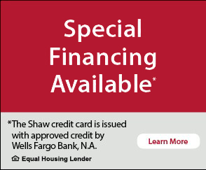 Olson Rug and Flooring Special Financing Available with approved credit